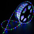 100FT Multicolor Connectable LED Rope Light In Outdoor Xmas Party Lighting 110V