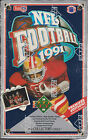 1991 UPPER DECK FOOTBALL FACTORY SEALED LOW NUMBER BOX!