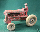ARCADE ALLIS CHALMERS RED BALLOON TIRE FARM TRACTOR #265 CAST IRON TOY 1930s