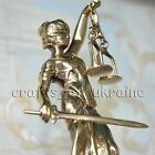 French Statue Sculpture Goddess of Justice Law & Order Bronze/Brass Antique