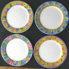 Set of 4 Assorted Sango Sweet Shoppe DINNER PLATES all different by Sue Zipkin