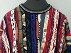 Cotton Traders Vintage Retro COOGI Cosby Sweater Men's XL Colorful textured