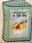 DISNEY Winnie the Pooh Soft Book Panel 1 Yard White Cotton