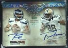 2012 Five Star RC Auto #4 5 - Russell Wilson & Nick Toon - Seahawks - Mint