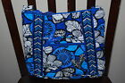 NEW WITH TAGS VERA BRADLEY BLUE BAYOU   HIPSTER LARGE