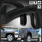 02-08 Ram 1500 03-09 Ram 2500/3500 Pocket Style Wheel Fender Flares Textured