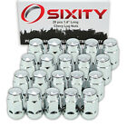 20 Chrome Bulge Acorn Wheel Lug Nuts Chevy Tracker M12x125mm 14 Standard bj