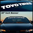 Toyo Tires Vinyl Windshield Banner Decal Sticker Car Proxes T1r Drift Racing Gt