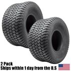 (2) 20x10x8 Tire Wheel Craftsman Lawn Tractor Riding Mower Tubeless 4Ply 20x10-8