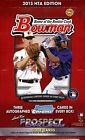 2013 Bowman Baseball Factory Sealed HTA Jumbo Pack Hobby Box
