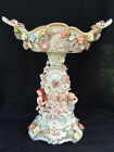 Antique porcelain : Large Meissen - style centrepiece - Fruitbowl. Marked