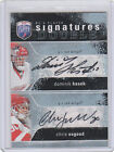 07-08 BAP Be A Player Dominik Hasek Chris Osgood Detroit Red Wings Auto