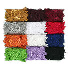 3 White Black Ivory Red 12 Colors Rose Floral Venice Lace Trim Guipure By Yard