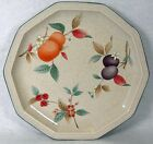 MIKASA china PEACHES & PLUMS pattern DQ726 Salad or Dessert Plate - 8-1/4