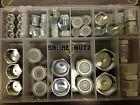 HYDRAULIC O RING FACE SEAL ORS PLUG AND CAP KIT 50pc ORFS FREE SHIPPING