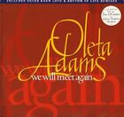 "OLETA ADAMS we will meet again OLEX 11 uk mercury 1995 12"" PS EX/EX"