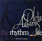 "OLETA ADAMS the rhythm of life (the remixes) OLEX 10 fontana 1995 12"" PS EX/EX"
