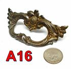 Antique 1920's Cast Iron Fancy DRAWER PULL handle *A16*