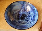 Wonderful Josh Simpson Blue New Mexico Series Bowl Signed & Dated
