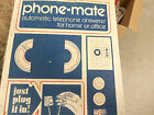 VINTAGE PHONE MATE 300 TELEPHONE ANSWERING MACHINE