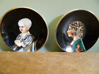 Occupied Japan Miniature Porcelain Decorative Wall Plate Set SGK China Portrait