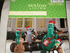 ALLIGATOR BAND Christmas Musical Lightshow w/REMOTE CONTROL Inflatable Airblown