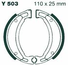 YAMAHA DT 50 MX 1992-95 Front EBC Organic Brake Shoes