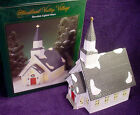MIB Mint In Box HEARTLAND VALLEY VILLAGE CHURCH Lighted HOUSE Porcelain HOLIDAY