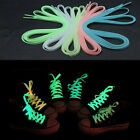 Stylish Fluorescent Luminous Soild Color Shoelace Sneaker Boots Shoes Strings