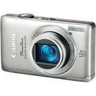 Canon PowerShot ELPH 510 HS Digital Camera (Silver) With 12.1MP