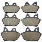 Front Rear Brake Pads For Harley FLHTCUI 1450 Ultra Classic Electra Glide 00-04