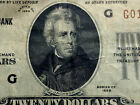 1929 $20 NATIONAL CURRENCY FEDERAL RESERVE BANK OF CHICAGO  NICE NOTE