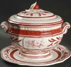 Fitz & Floyd Town & Country Soup Tureen With Lid & Underplate