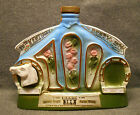 Vintage 1974 Jim Beam Decanter 100th Kentucky Derby Churchill Downs Horse Head