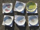 Vintage Mixed  Lot of 6 Butter Pat Dishes Limoges/Grindley/Knowles/Meakin VGUC