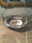 Antique Art Nouveau Pairpoint Mfg Co Quadruple Silver plate Basket