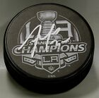 TREVOR LEWIS Signed LOS ANGELES KINGS 2014 STANLEY CUP CHAMPIONS PUCK! 1005937