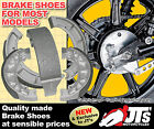 SUZUKI TS250 ER ERN ERT ERX 79 to 81 FRONT & REAR DRUM BRAKE SHOES