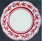 Fitz & Floyd Town & Country Dinner Plate(s) Red Vine New