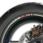 12 x APRILIA SL 1000 STRIPE WHEEL RIM STICKERS DECALS- mille rsv falco sl1000