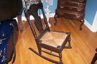 Child's Rocking Chair with Caned Seat