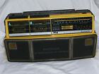 Magnavox Dual Deck Stereo Radio Cassette Recorder Model D8300 Boombox WORKS!!!