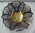 International Silverplate Bread Fruit Candy BASKET