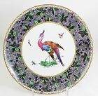 STUNNING ANTIQUE SPODE COPELAND'S COUPE DINNER PLATE HAND PAINTED CHELSEA BIRD