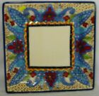 TABLETOPS UNLIMITED china TOLUCA pattern Square Dinner Plate @ 10-3/4