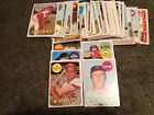 Vintage Old Topps Baseball lot of 53 Cards 1969, Stars EX Cond No Duplicates