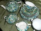 RARE Pailsey Empire Ware Tea Set / Stoke on Trent / England