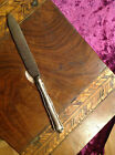 SOLID SILVER Handled old cutlery knife butter knife letter opener