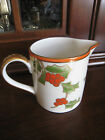 FITZ & FLOYD CHRISTMAS HOLLY CREAMER Excellent Condition