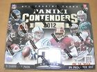 2012 Playoff Contenders Football Hobby Box